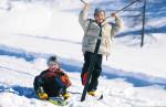 winterfun-дітей-Fun-зимовий-лижний слід країні довгостроковій довгостроковій перспективі знесення Тіролю-Австро-Wildschoenau