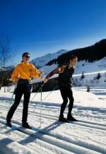 довгостроковій перспективі лижних трас траси Wildschoenau довгостроковій Тіроль міжкраїнових стежка міжкраїнових стежка-Schönangeralm панорама Loipe